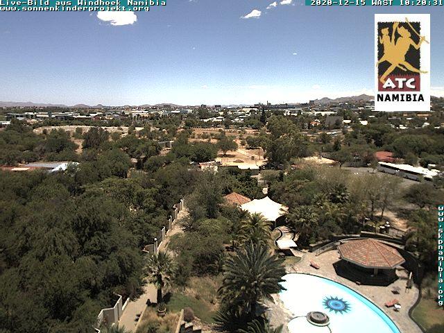 Livebild aus Windhoek