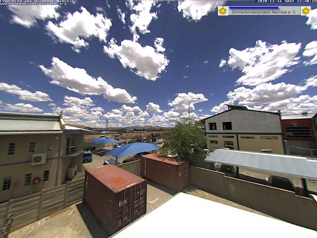 Livebild aus Windhoek IT-Choice